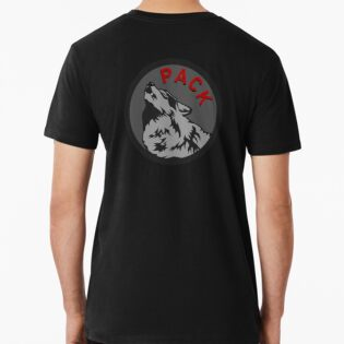 Wolf Pack Logo T-shirt