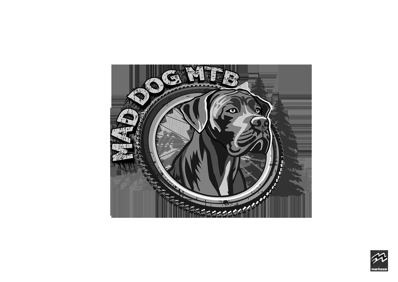Mad Dog MTB Logo Final All Transparent Web