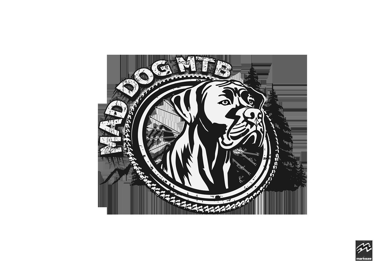Mad Dog MTB Logo Final BW Less Details Web