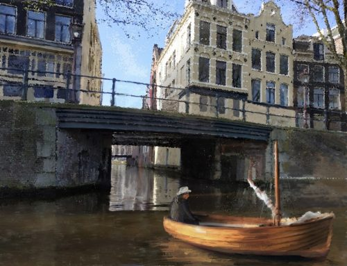 Boat in Amster-Canal